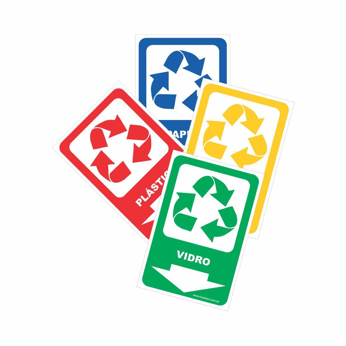 Kit Reciclável  - Towbar Sinalização de Segurança