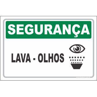 Lava olhos  - Towbar Sinalização de Segurança