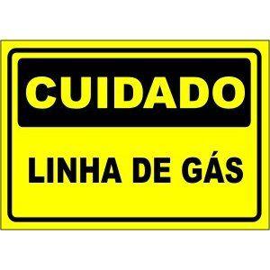 Linha de Gás  - Towbar Sinalização de Segurança