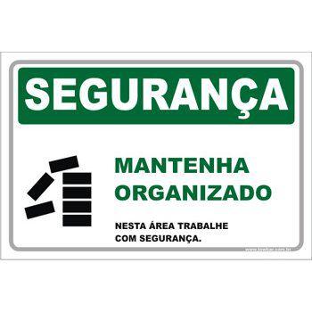 Mantenha Organizado  - Towbar Sinalização de Segurança