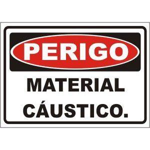 Material Cáustico  - Towbar Sinalização de Segurança