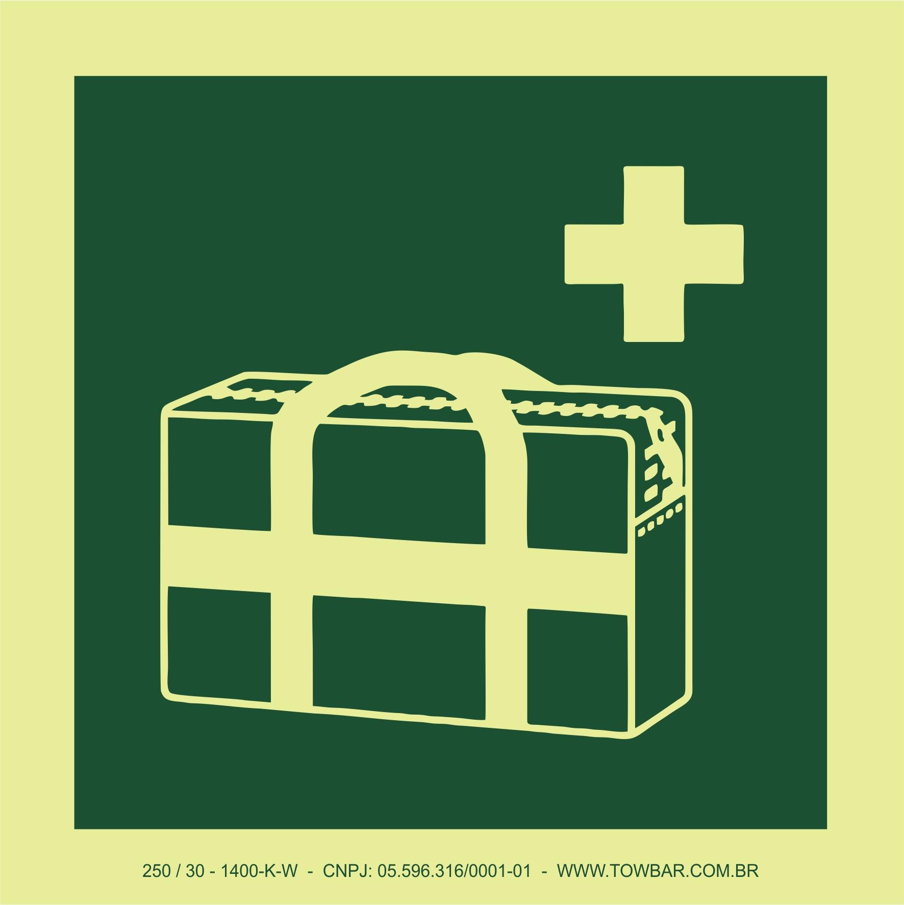 Maleta médica (Medical grab bag)  - Towbar Sinalização de Segurança