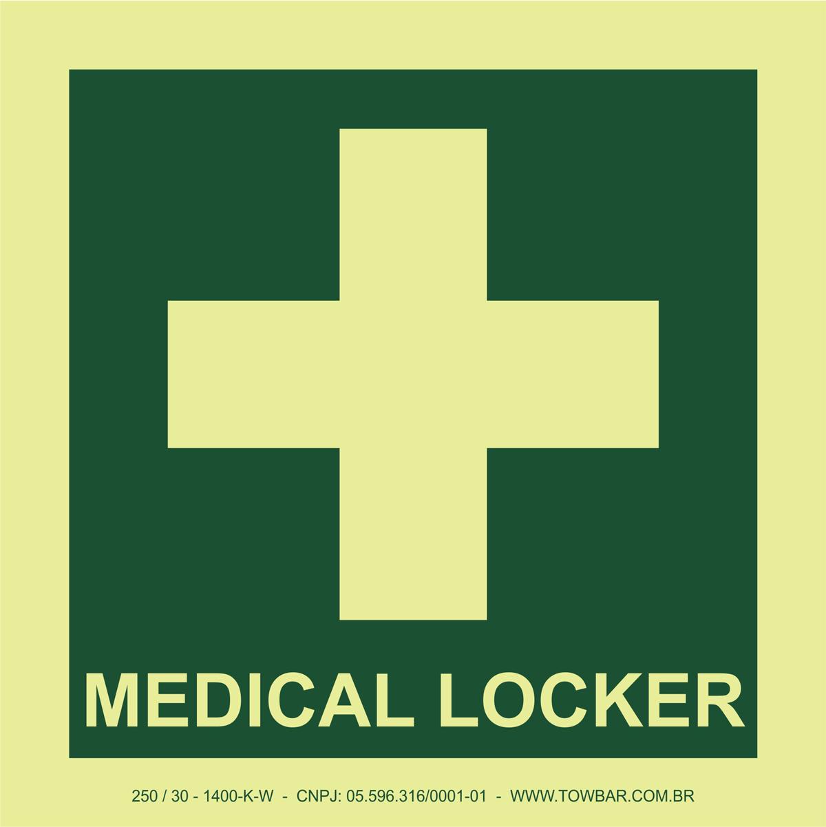 Medical Locker  - Towbar Sinalização de Segurança