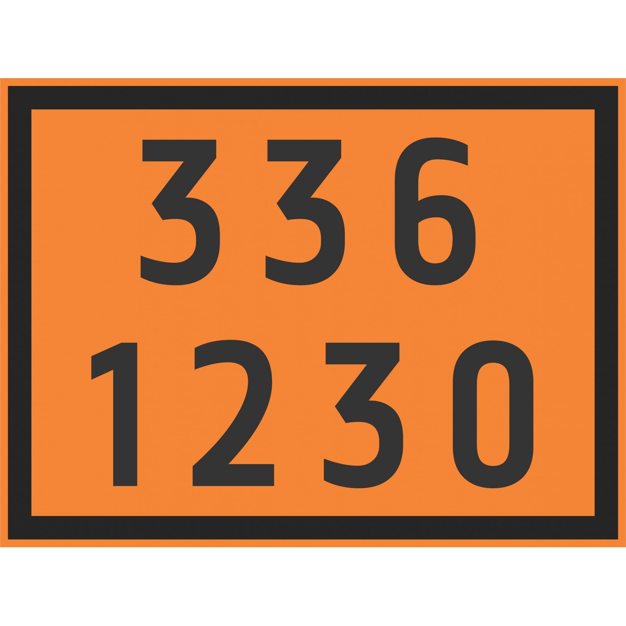 METANOL 1230  - Towbar Sinalização de Segurança