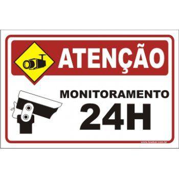 Monitoramento 24 horas  - Towbar Sinalização de Segurança
