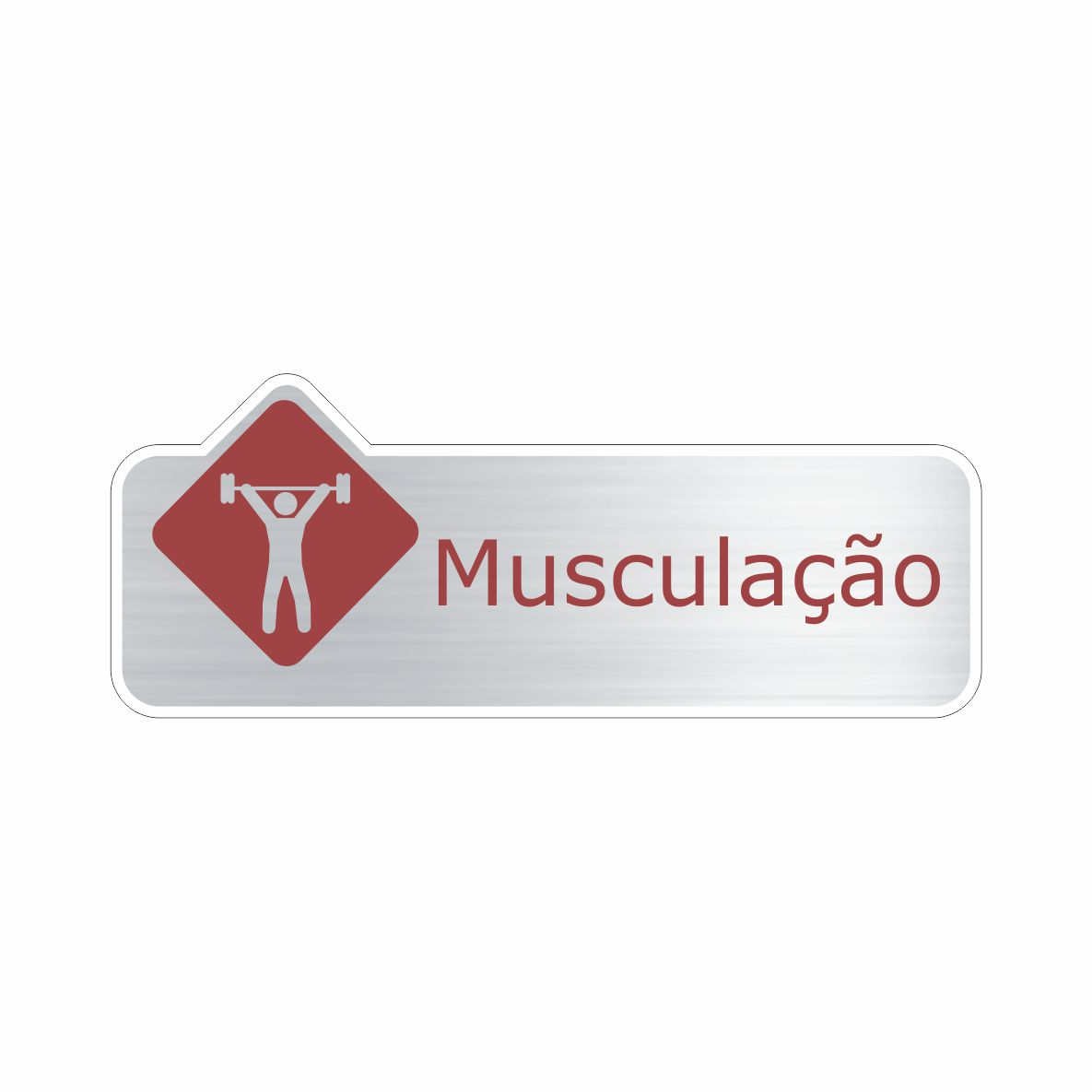 Musculação  - Towbar Sinalização de Segurança