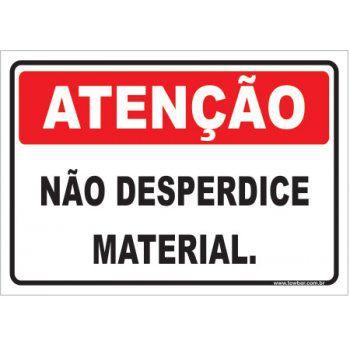 Não Desperdice Material  - Towbar Sinalização de Segurança