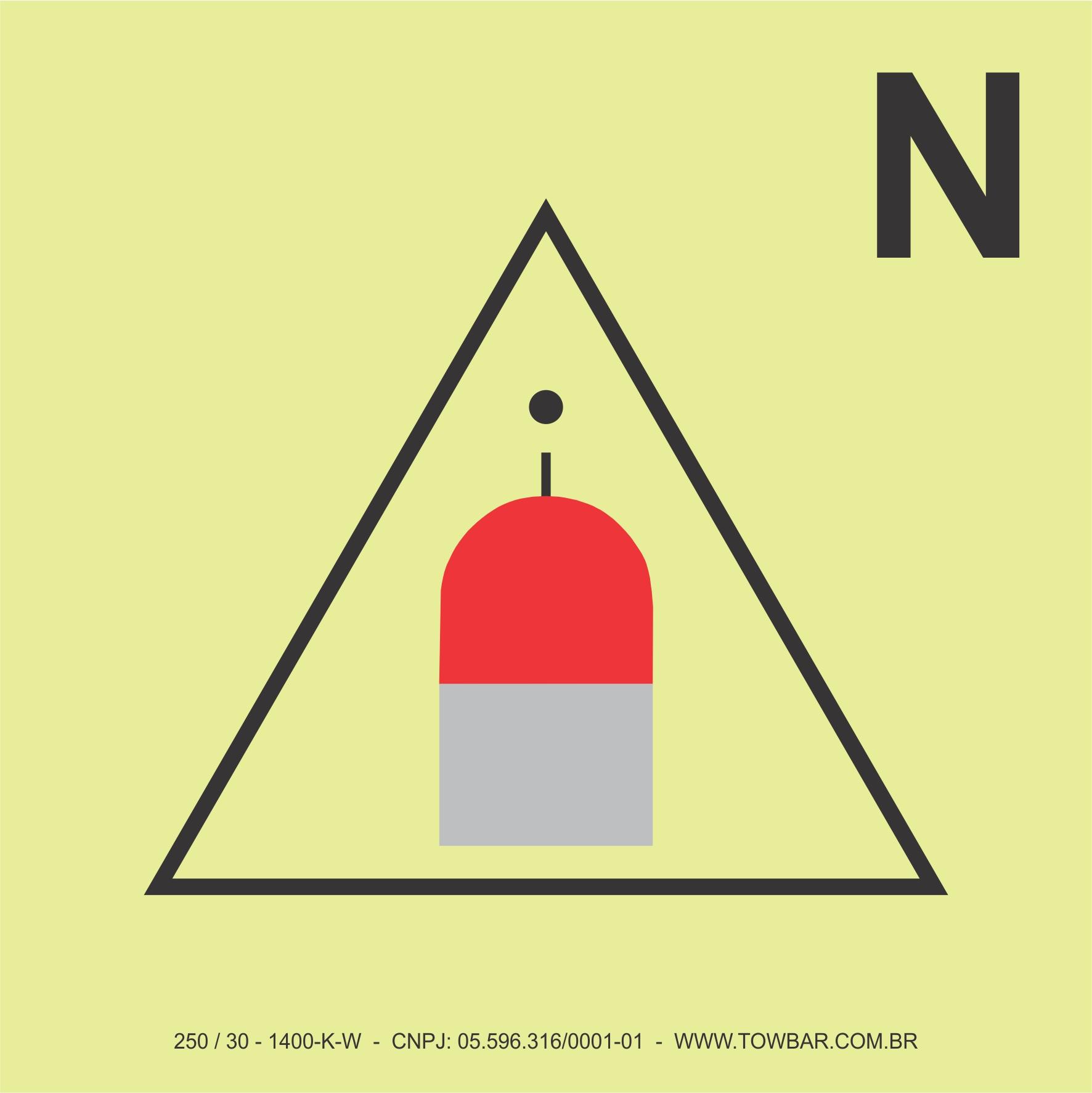 Nitrogen Remote Release Station  - Towbar Sinalização de Segurança