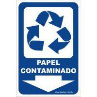 Papel Contaminado  - Towbar Sinalização de Segurança