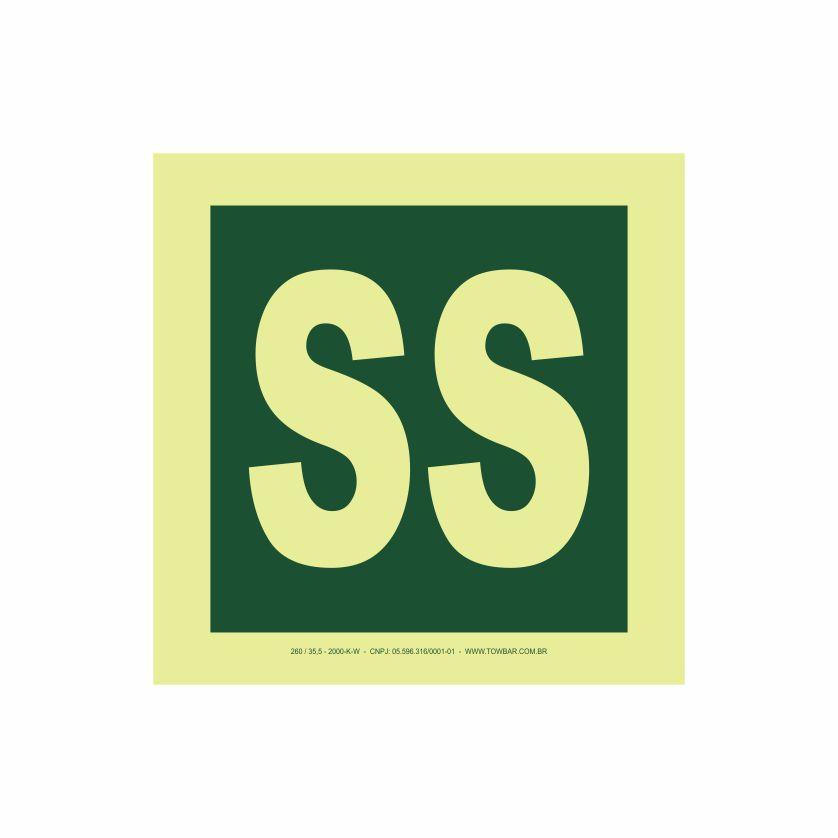 Pavimento subsolo  - Towbar Sinalização de Segurança