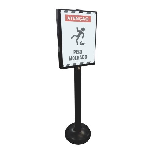 Pedestal Informativo  - Towbar Sinalização de Segurança