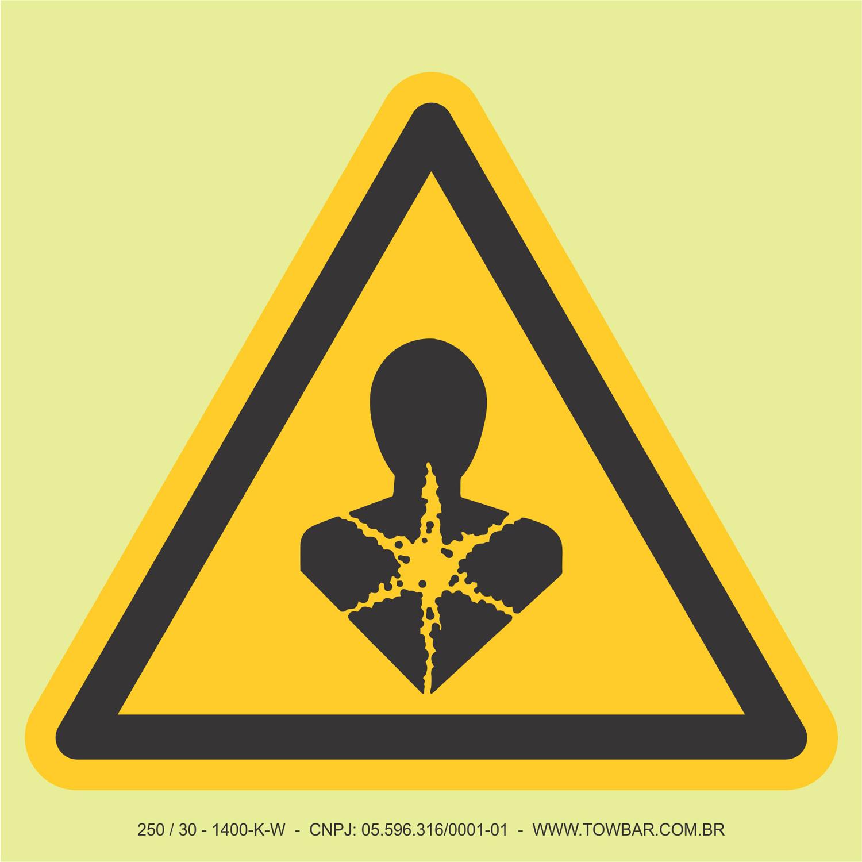 Perigo a longo prazo para o coração  - Towbar Sinalização de Segurança