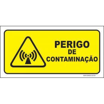 Perigo de contaminação  - Towbar Sinalização de Segurança