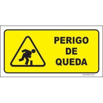 Perigo de quedas  - Towbar Sinalização de Segurança