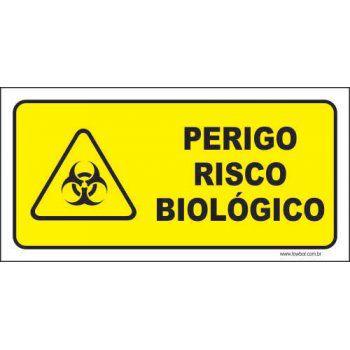 Perigo risco biológico  - Towbar Sinalização de Segurança