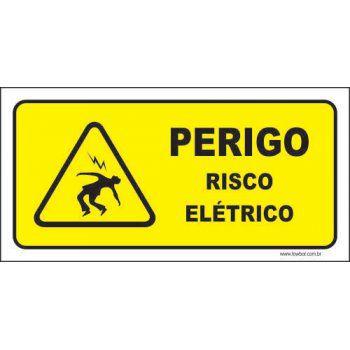 Perigo risco elétrico  - Towbar Sinalização de Segurança