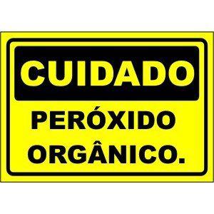 Peróxido Orgânico  - Towbar Sinalização de Segurança