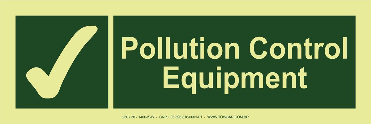Pollution Control Equipment  - Towbar Sinalização de Segurança