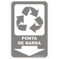 Ponta de Barra  - Towbar Sinalização de Segurança