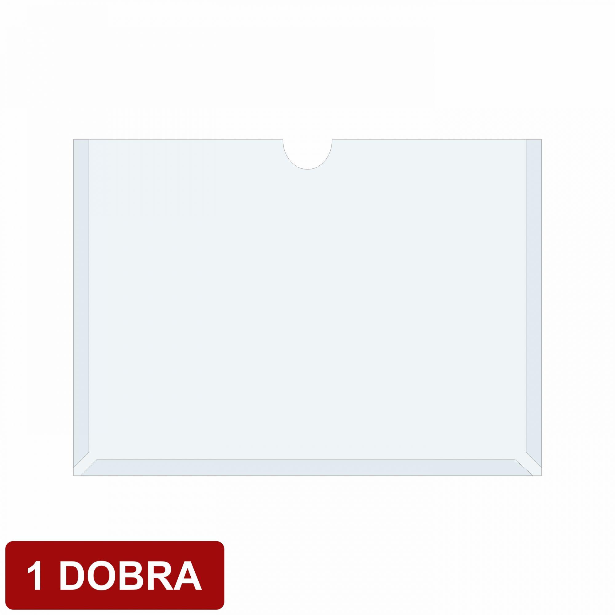 Porta folha em acetato 1 dobra  - Towbar Sinalização de Segurança