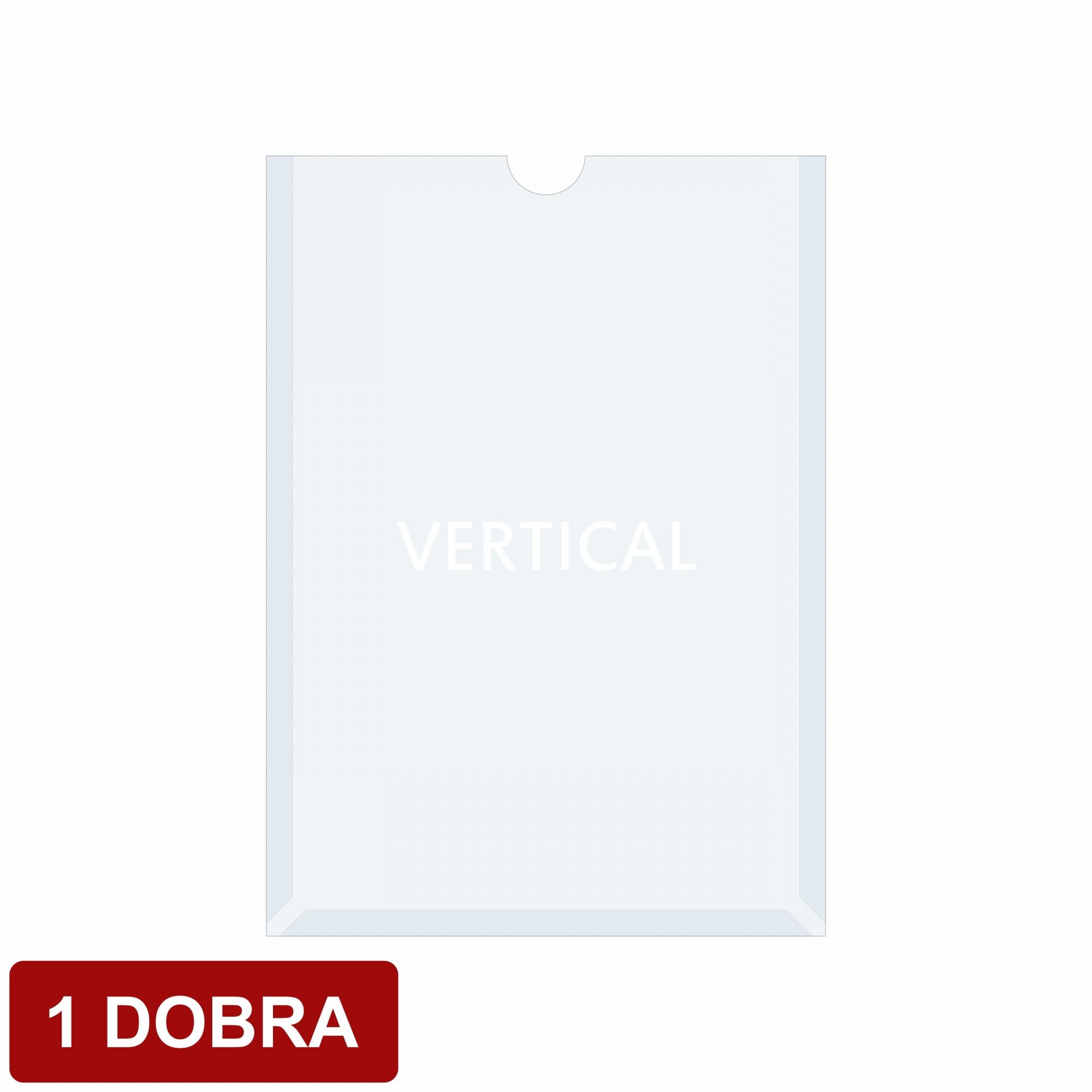 Porta folha A4 acetato 1 dobra  - Towbar Sinalização de Segurança