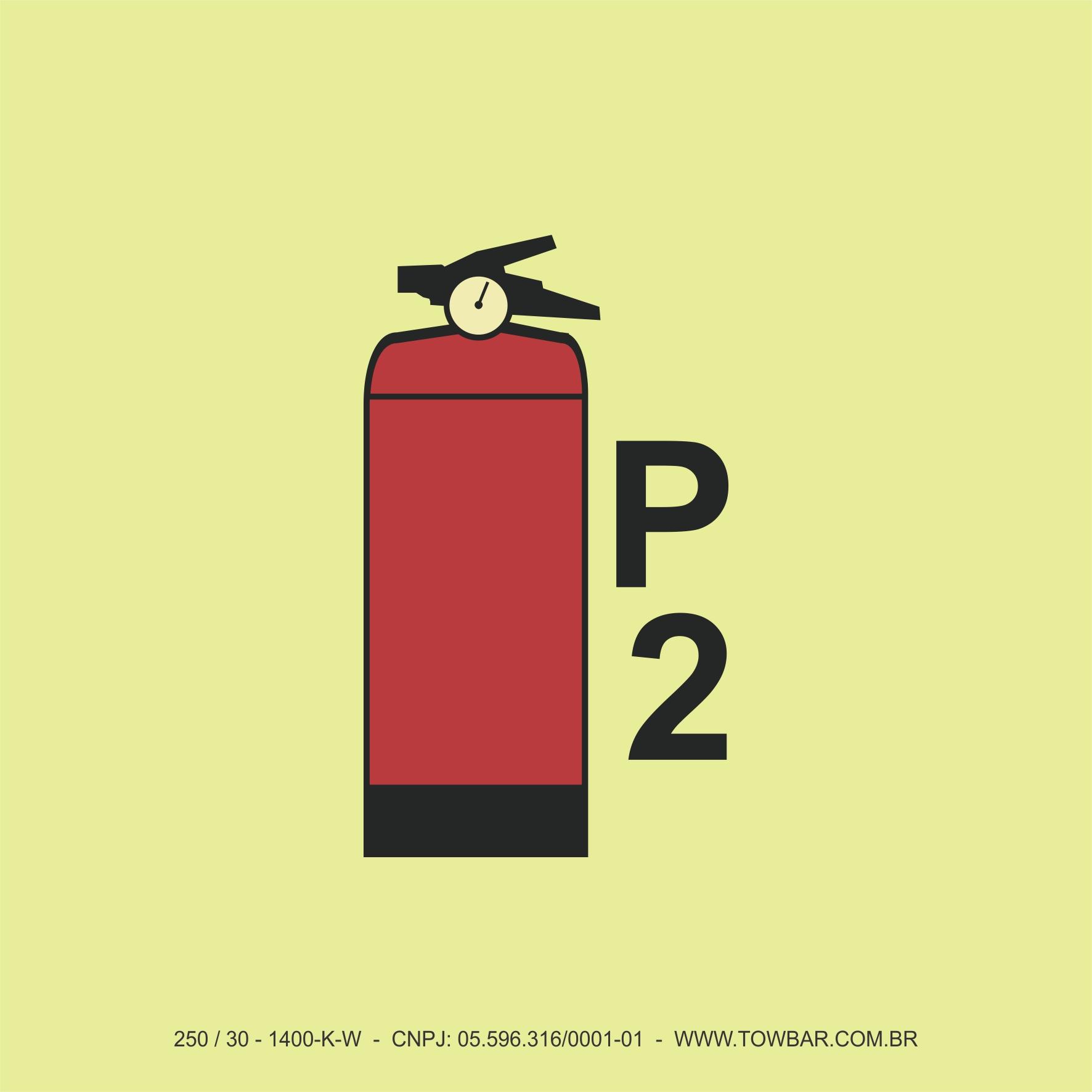 Extintor de Incêndio Portátil (Portable Fire Extinguishers)  - Towbar Sinalização de Segurança