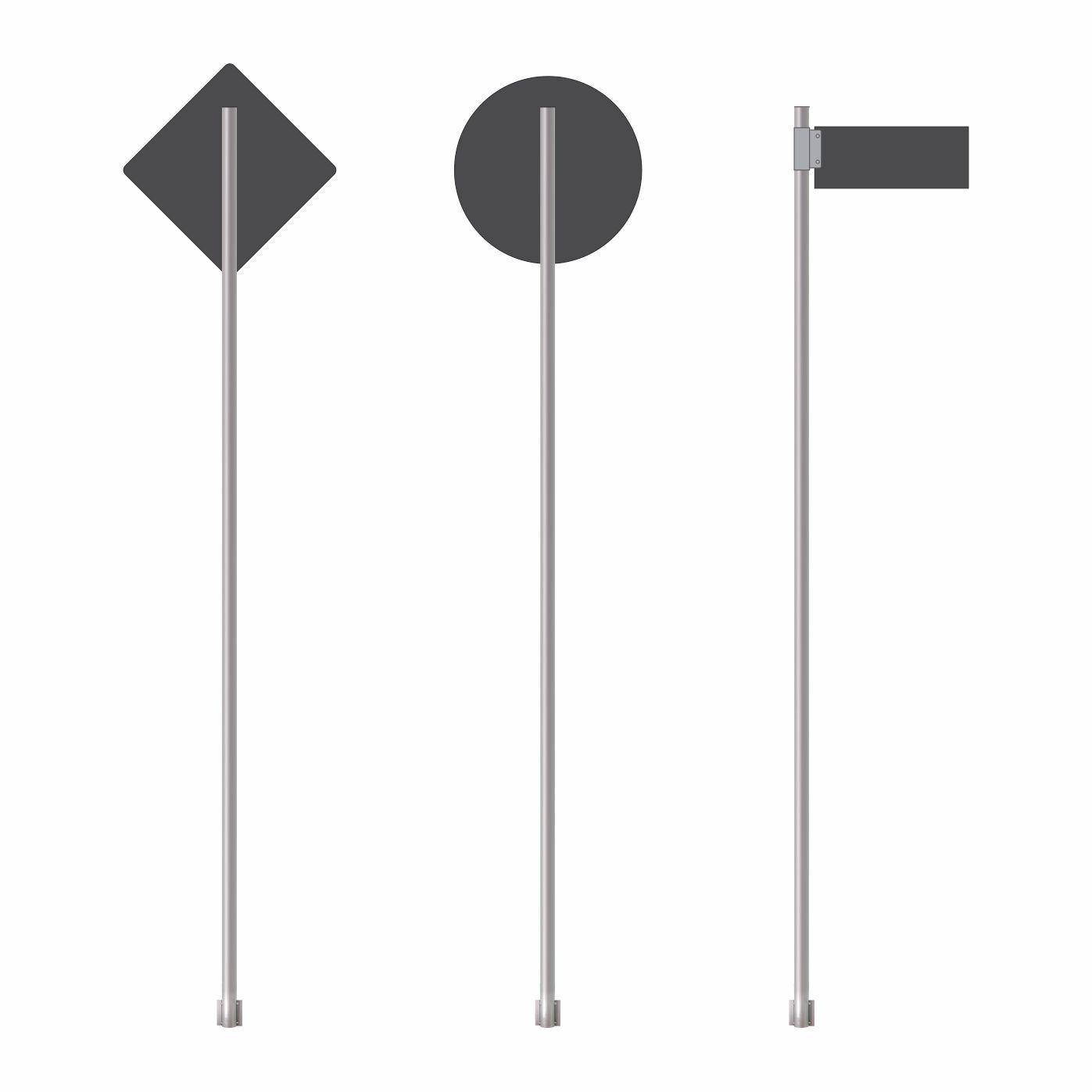 Poste de sinalização  - Towbar Sinalização de Segurança