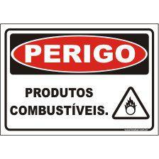 Produtos Combustíveis  - Towbar Sinalização de Segurança