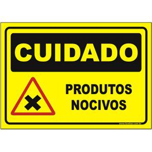 Produtos nocivos  - Towbar Sinalização de Segurança