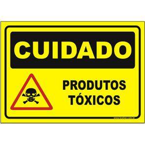 Produtos tóxicos  - Towbar Sinalização de Segurança