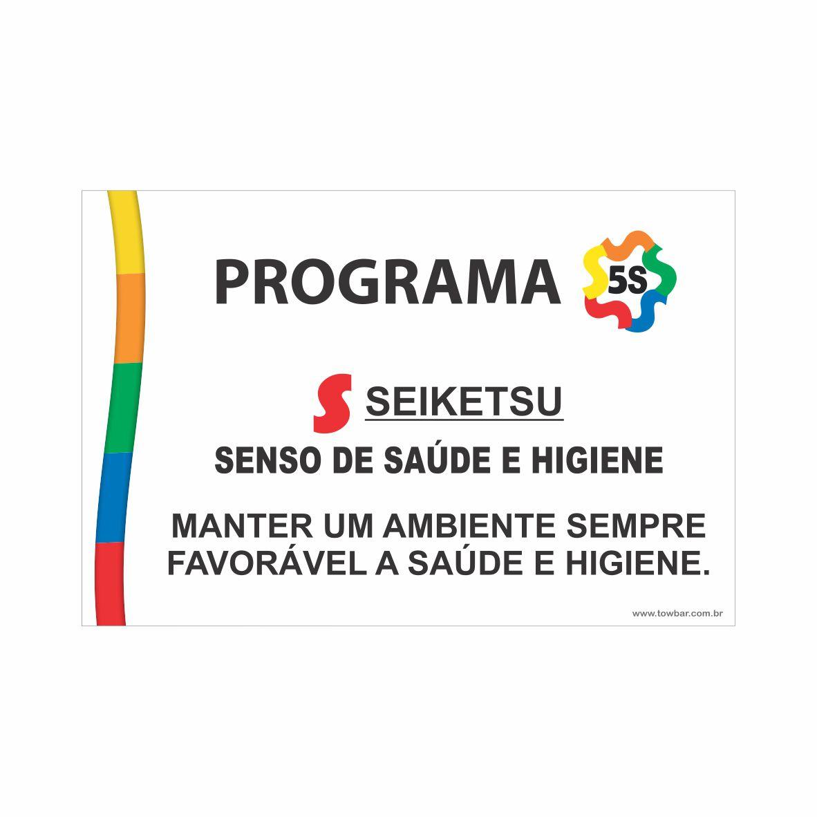 Programa 5S - Seiketsu  - Towbar Sinalização de Segurança