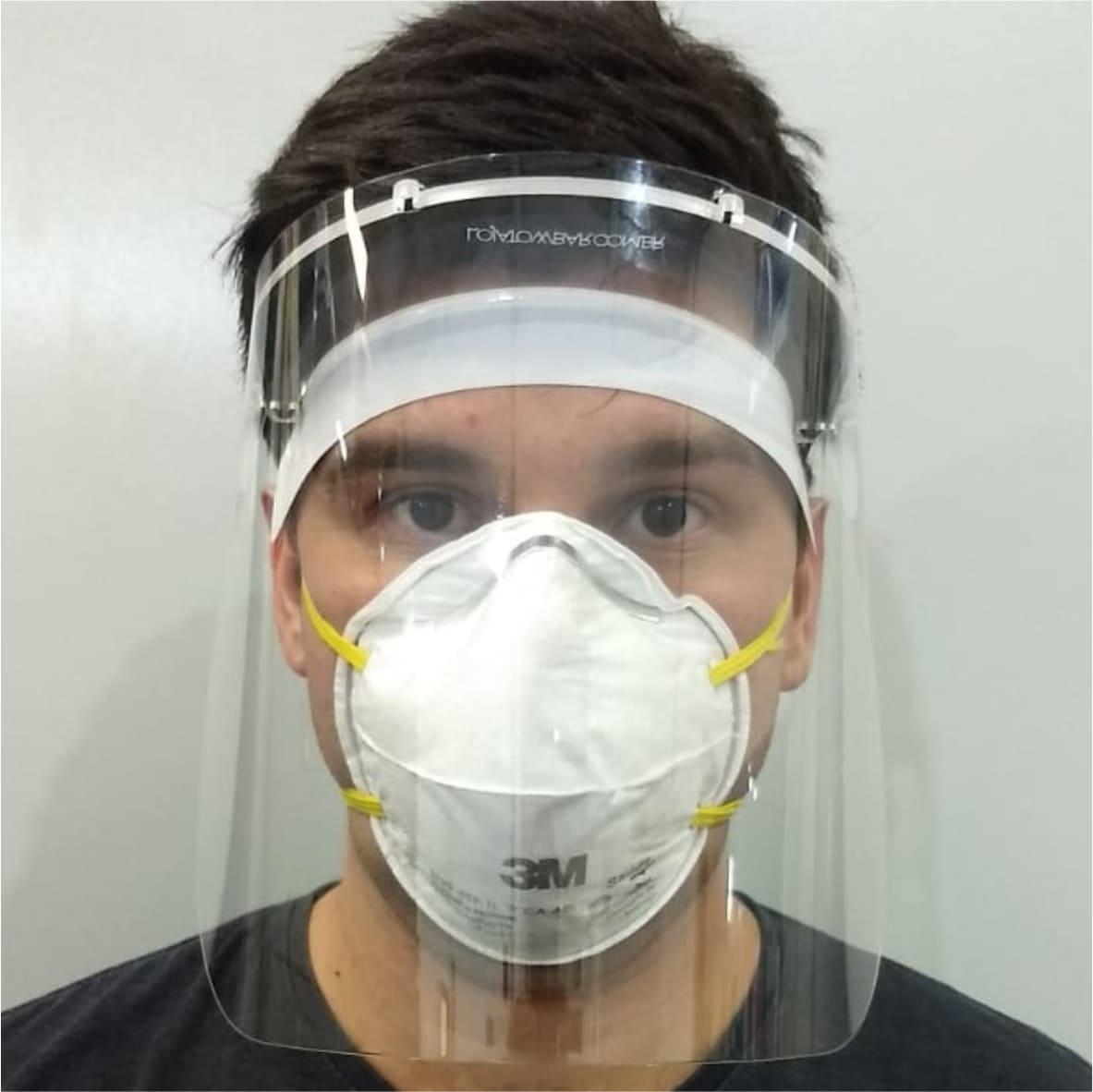 Protetor facial  - Towbar Sinalização de Segurança