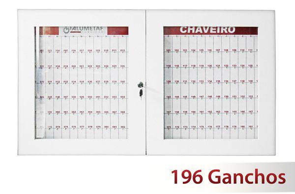 Quadro claviculário para 196 chaves  - Towbar Sinalização de Segurança