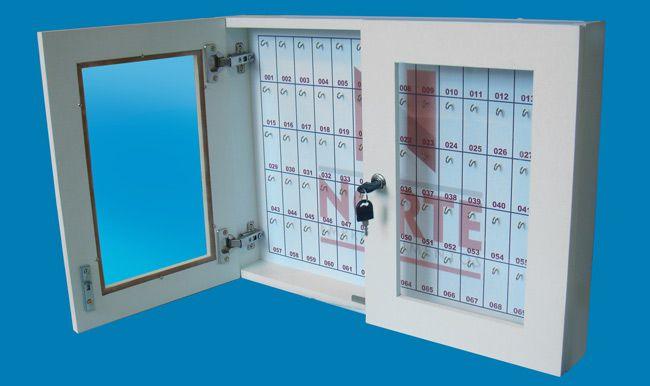 Quadro claviculário para 70 chaves  - Towbar Sinalização de Segurança