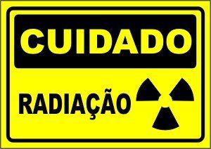 Radiação  - Towbar Sinalização de Segurança
