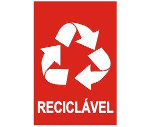 Reciclável  - Towbar Sinalização de Segurança
