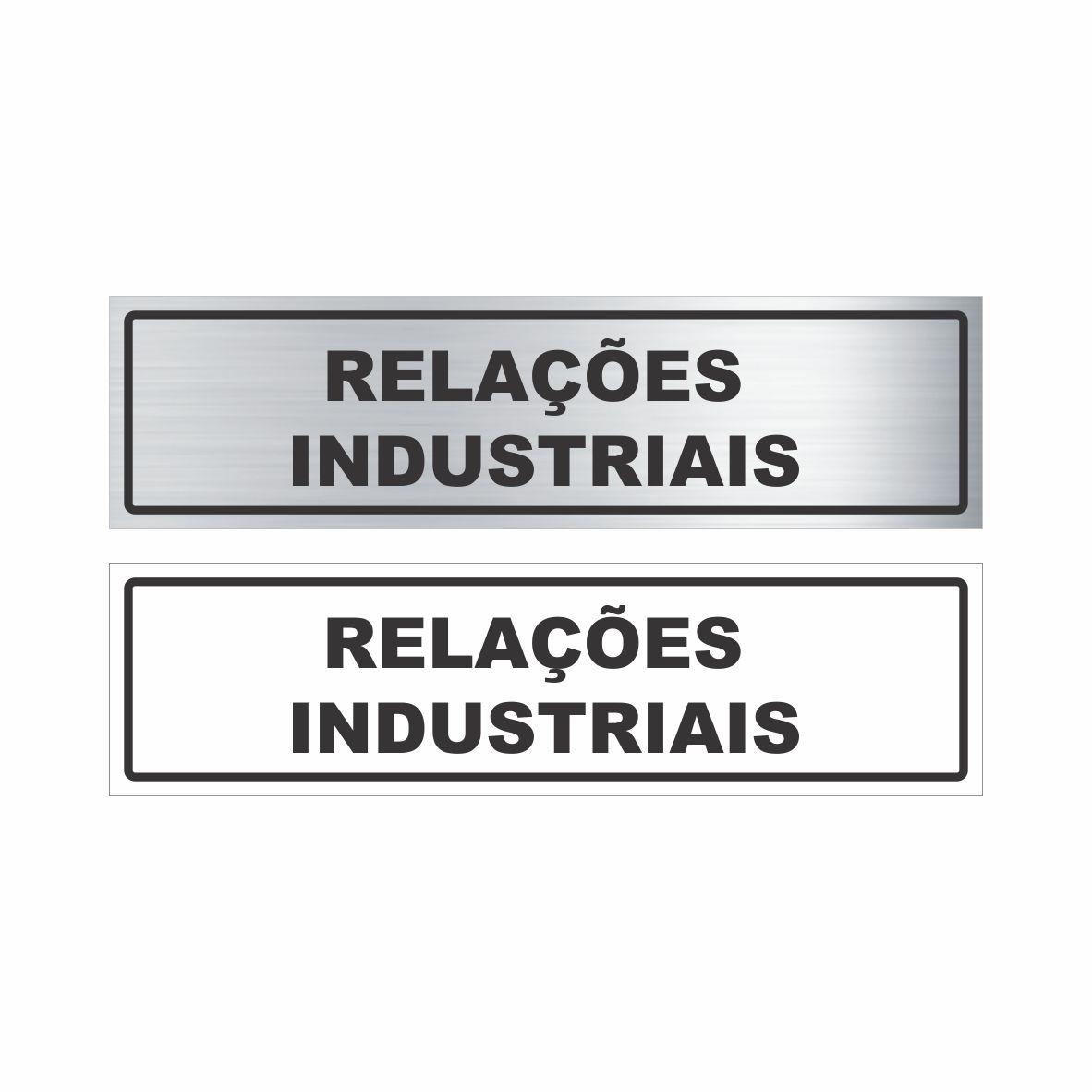 Relações industriais  - Towbar Sinalização de Segurança