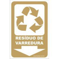 Resíduo de Varredura  - Towbar Sinalização de Segurança