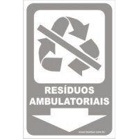Resíduos Ambulatoriais  - Towbar Sinalização de Segurança