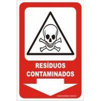 Resíduos Contaminados  - Towbar Sinalização de Segurança