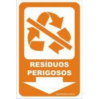 Resíduos Perigosos  - Towbar Sinalização de Segurança