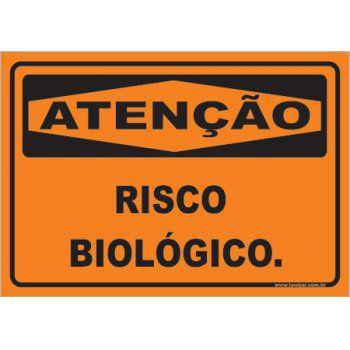 Risco Biológico  - Towbar Sinalização de Segurança