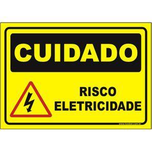 Risco eletricidade  - Towbar Sinalização de Segurança