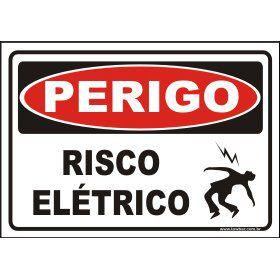 Risco elétrico  - Towbar Sinalização de Segurança