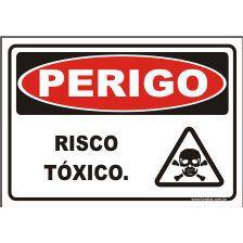 Risco tóxico  - Towbar Sinalização de Segurança