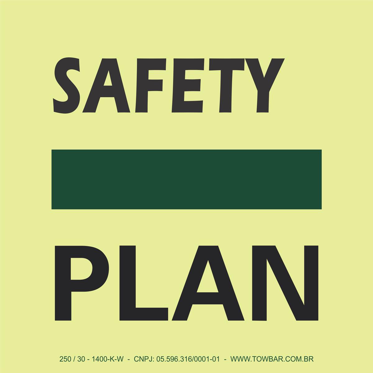 Safety Plan  - Towbar Sinalização de Segurança