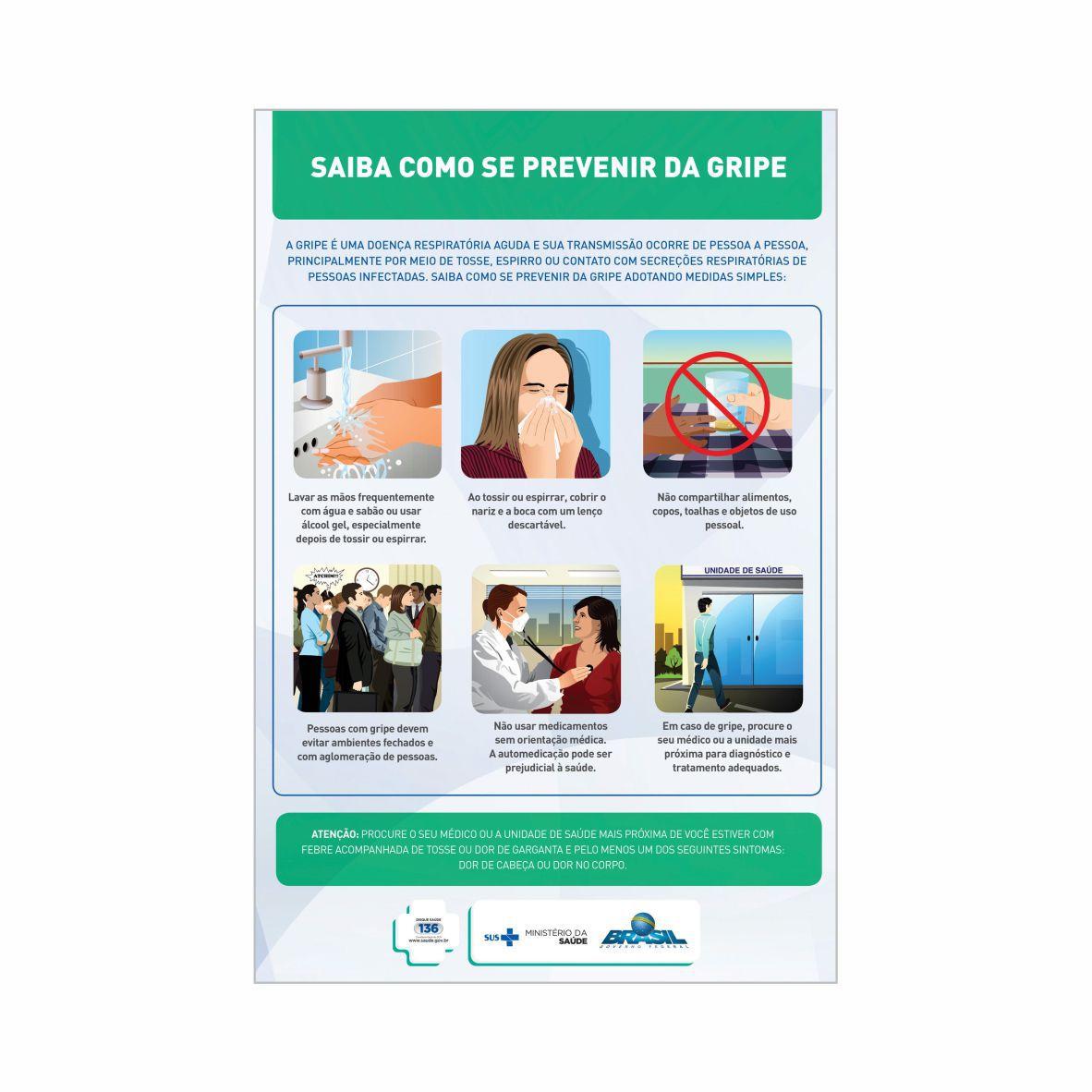 Saiba como se prevenir da gripe  - Towbar Sinalização de Segurança