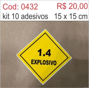 Saldão - Adesivo Explosivo  - Towbar Sinalização de Segurança