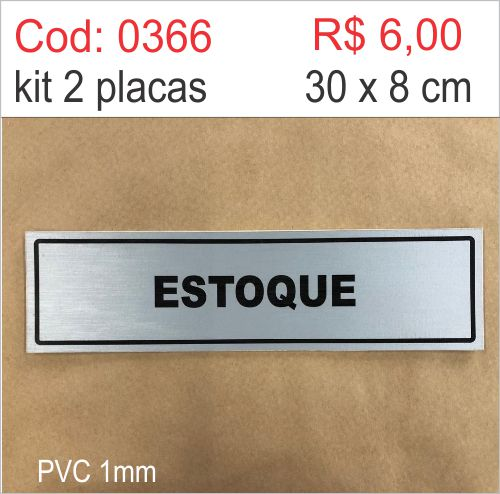Saldão - Placa Identificação Estoque  - Towbar Sinalização de Segurança