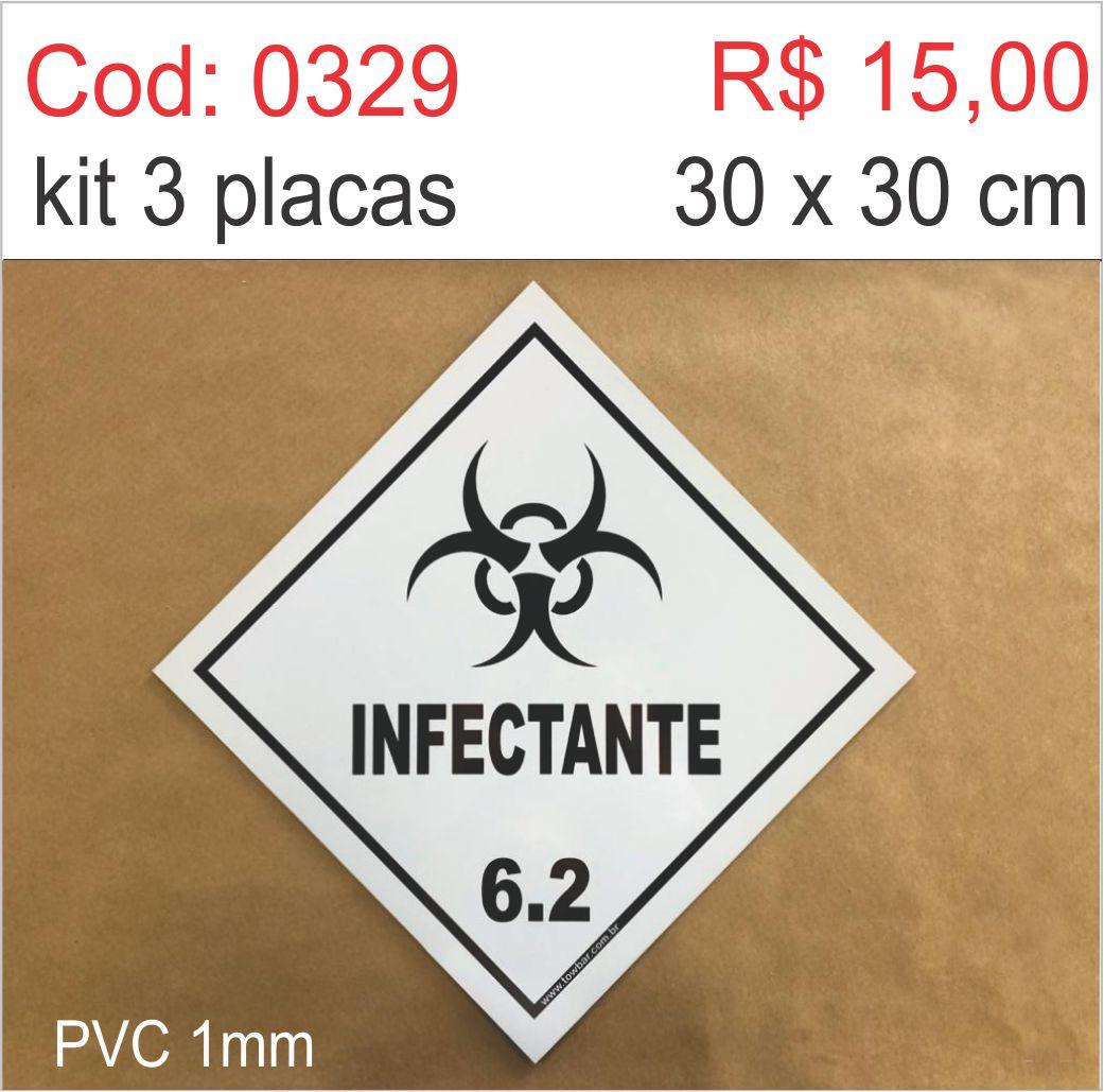 Saldão - Placa Infectante  - Towbar Sinalização de Segurança